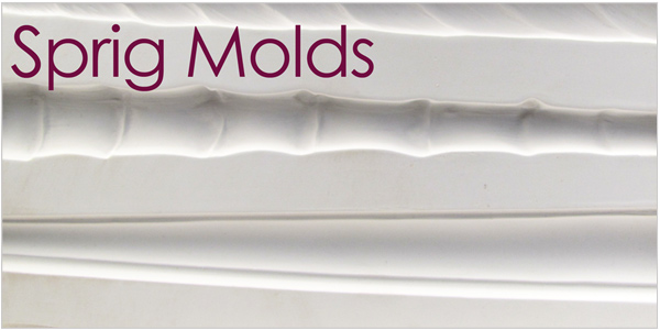 sprig molds for clay